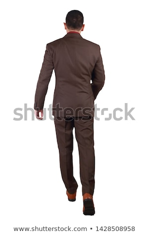 businessman - back side Stock photo © dgilder