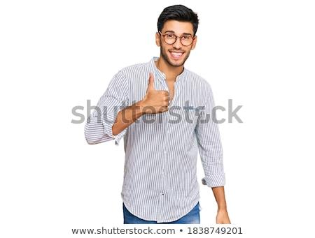 Positive gesture Stock photo © pressmaster