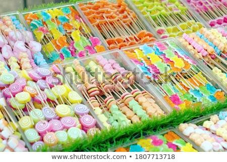 ストックフォト: カラフル · 甘い · 通り · 市場 · お菓子