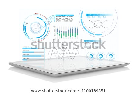 tablet growth graph stock photo © unkreatives