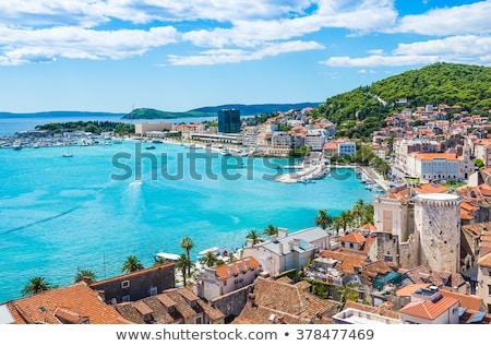 split cityscape stock photo © joyr