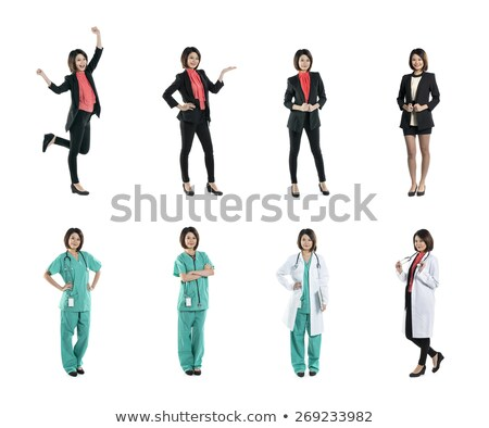 Full length shot of a medic in hospital scrubs Stock photo © photography33