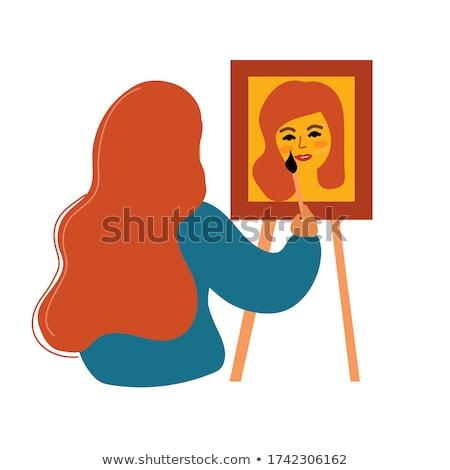 Self Portrait Stock photo © hsfelix