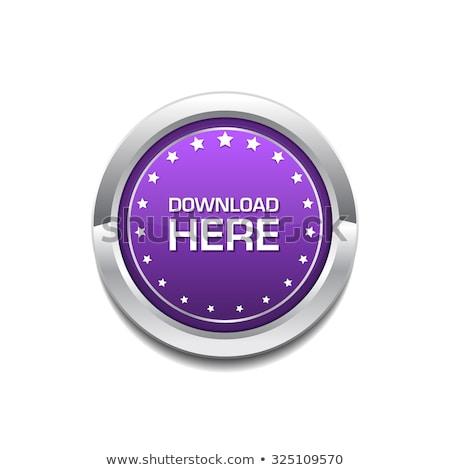 download here purple circular vector button stock photo © rizwanali3d