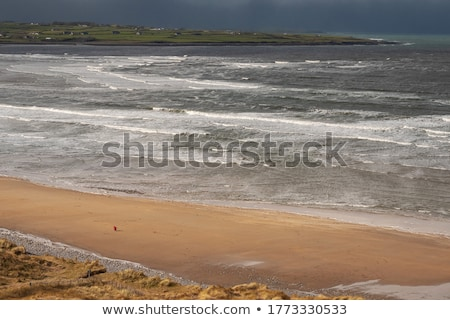 beautiful sandy beach in ireland Stock photo © morrbyte