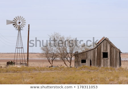 old abandoned farm stock photo © compuinfoto