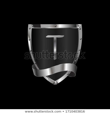 middeleeuwse · heraldiek · illustratie · nuttig · ontwerper · werk - stockfoto © sharpner