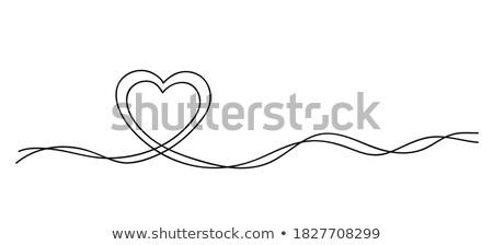 Pregnancy abstract drawing  Stock photo © shawlinmohd