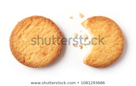zoete · home · brood · pasta · geïsoleerd · witte - stockfoto © homydesign