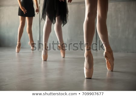 the close up of a young ballerina stock photo © master1305