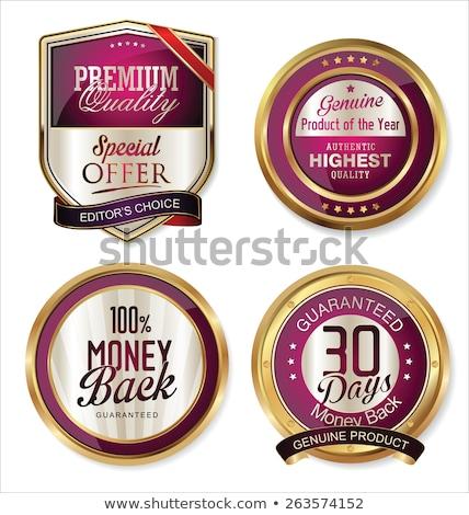 Stock photo: Best Choice Purple Circular Vector Button