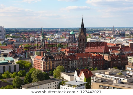 market church and old town hall in hannover germany stock photo © vladacanon