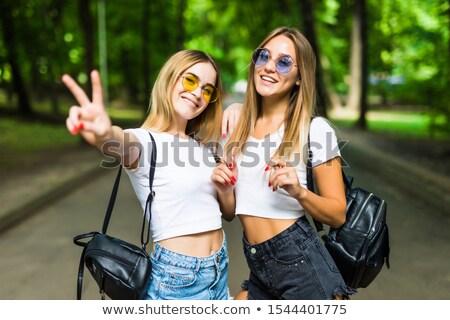 dois · mulher · mulheres · saúde - foto stock © Paha_L