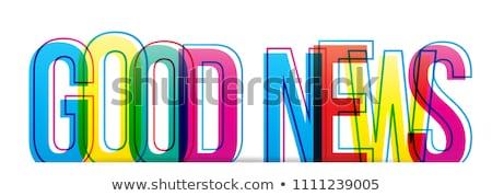 良いニュース 良い 日 ビジネス ラッキー ビジネスマン ストックフォト © tiKkraf69