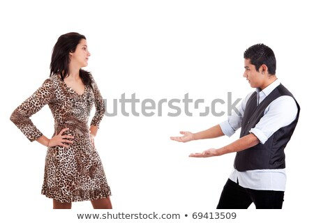 latin man to extend his arms to embrace his beloved stock photo © alexandrenunes