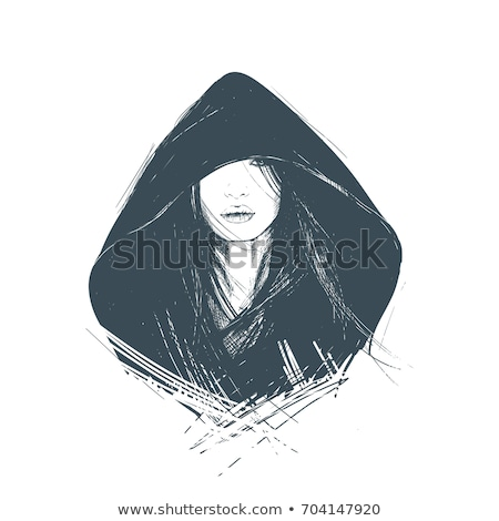 woman in hood stock photo © sapegina