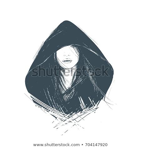 Woman in hood Stock photo © sapegina