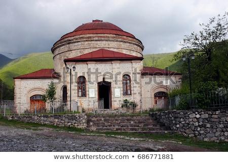 Stad Azerbeidzjan hotel bergen architectuur park Stockfoto © Elnur
