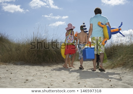 A beach summer outing Stock photo © bluering