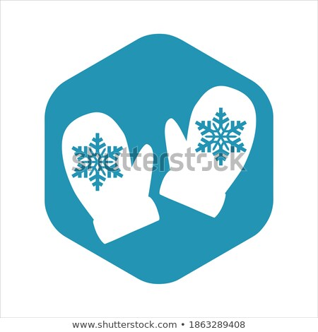 Vector Snowflake For Your Design. Isolated Object on white. Stock photo © khabarushka
