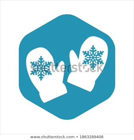 vektör · kar · tanesi · dizayn · yalıtılmış · nesne · beyaz - stok fotoğraf © khabarushka