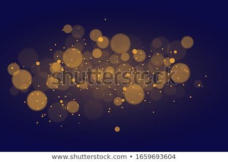 orange · Lichter · eps · Vektor · Datei · Schnee - stock foto © beholdereye