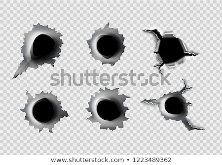 Bullet holes stock photo © cundm