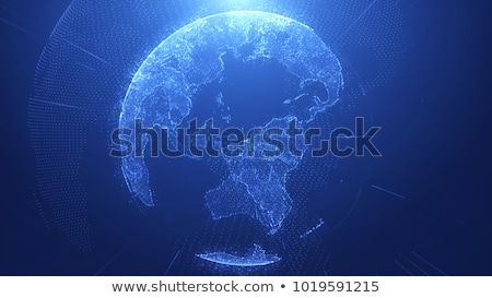 Blu terra business acqua mondo pianeta Foto d'archivio © almir1968