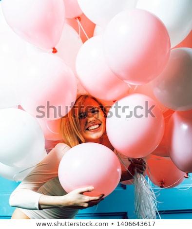 parti · renkli · grup · plastik · kutlama - stok fotoğraf © iordani