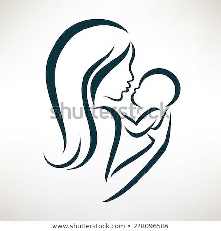 Mães dia gravidez pré-natal feto Foto stock © Lightsource