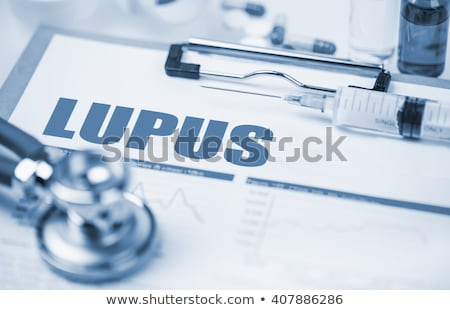 Lupus Diagnosis. Medical Concept. Stock photo © tashatuvango
