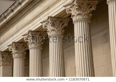 Corinthian columns. Stock photo © lithian