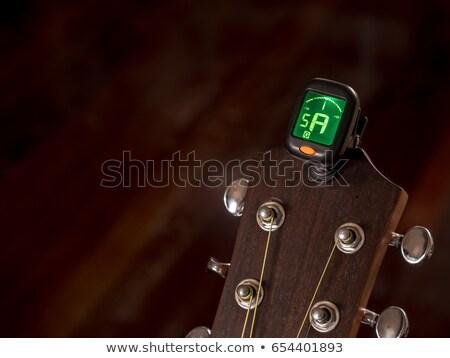 Analogic guitar Tuner  Stock photo © homydesign