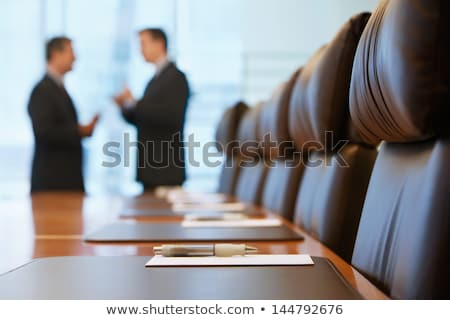 two businessmen in meeting room Stock photo © IS2