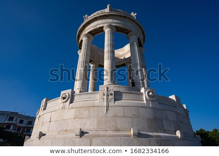 The Pantheon against blue sky Stock photo © IS2
