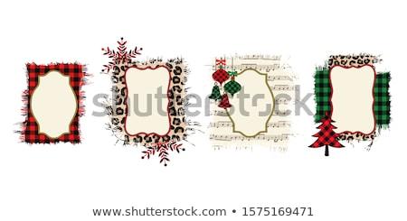 Noël · partition · vieux · art · étoiles · clé - photo stock © andreasberheide