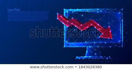 ビジネス 技術 接続 アップ 行 イラストレーター ストックフォト © alexmillos
