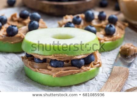 сэндвич · сыра · редис · здоровья · лет - Сток-фото © m-studio