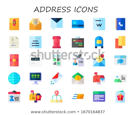 flat icons set 30 stock photo © sidmay