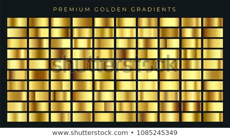 huge big collection of golden gradients background swatches Stock photo © SArts