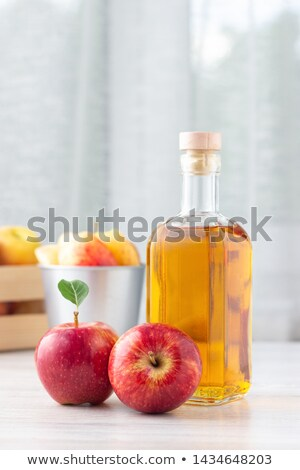Apples with condiments on table Stock photo © dash