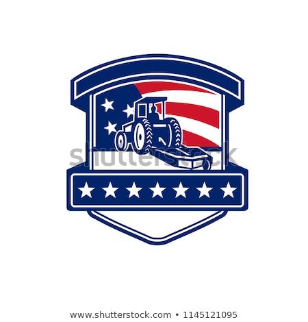 щетка · американский · флаг · фон · флаг · свободу · праздник - Сток-фото © patrimonio