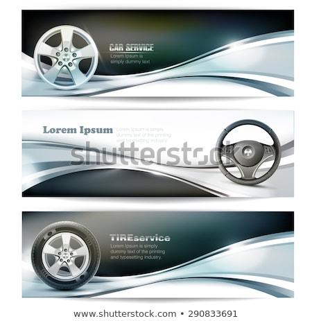 Car service concept banner header. Stock photo © RAStudio