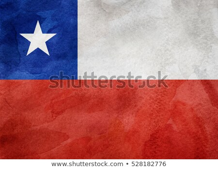 Flag of Chile on paper Stock photo © colematt