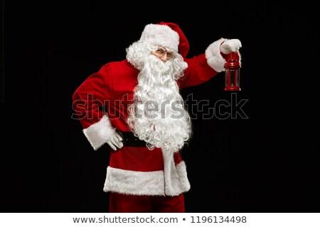 Foto stock: Natal · férias · papai · noel · vetor