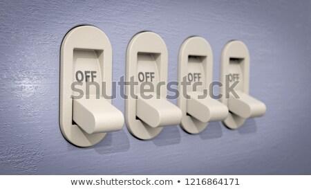 Switch poste 3D rendu 3d illustration Photo stock © djmilic