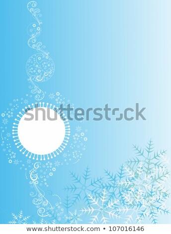 雪 勾配 クリスマス 抽象的な ハーフトーン ストックフォト © SwillSkill