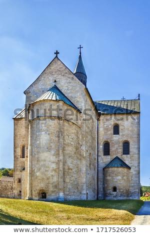 St. Cyriakus, Gernrode, Germany Stock photo © borisb17