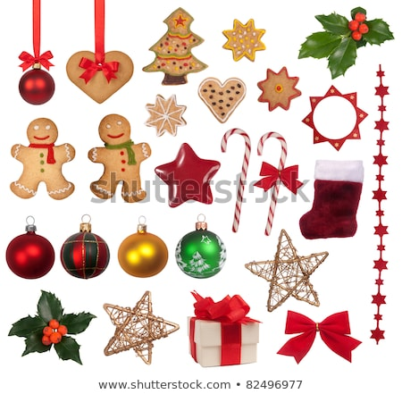 Gifts or Presents, Heart and Star Isolated Objects Stock photo © robuart