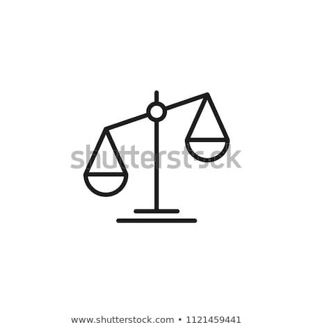 адвокат · масштаба · икона · символ · дизайна · прав - Сток-фото © angelp